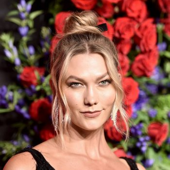 Karlie Kloss opened up about her political beliefs in the wake of that viral <em>Project Runway</em> moment