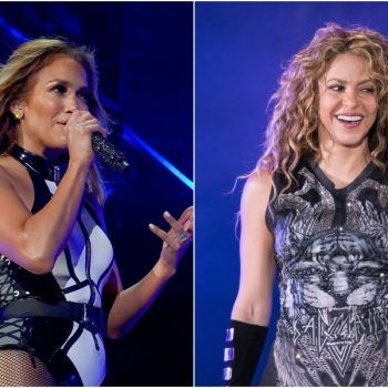 Jennifer Lopez and Shakira are sharing behind-the-scenes looks at their Super Bowl halftime show