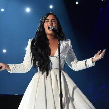 Demi Lovato's emotional Grammys performance will have you crying along with her