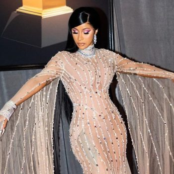 Cardi B wore a $5 million necklace to the Grammys, nbd