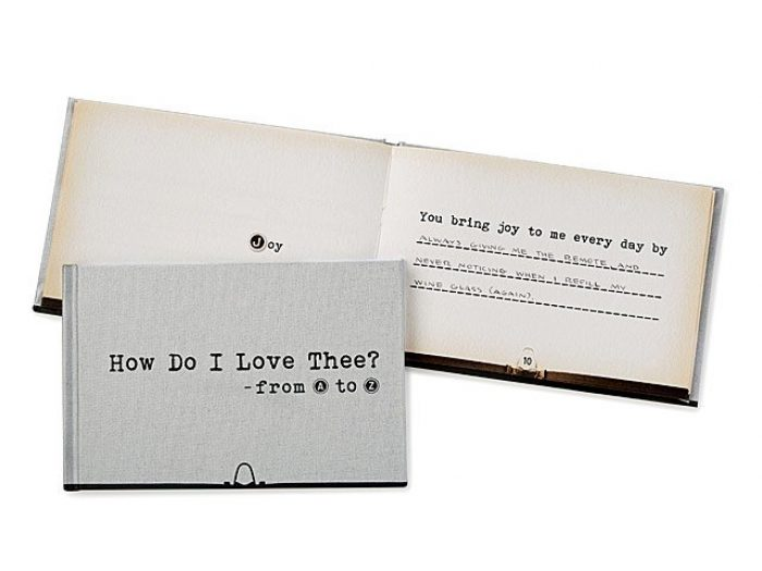 i love you book, paper anniversary gift ideas