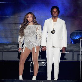 Beyoncé and Jay-Z remained seated during the national anthem at the Super Bowl