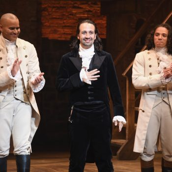 <em>Hamilton</em> is going to hit the big screen, and all of the original cast is on board