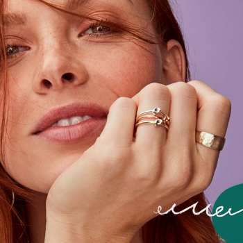 7 dainty, stackable rings for the prettiest layered jewelry look