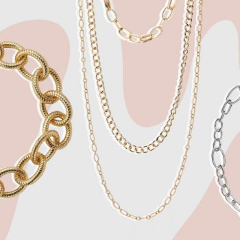 11 chain link necklaces to shop, all under $80
