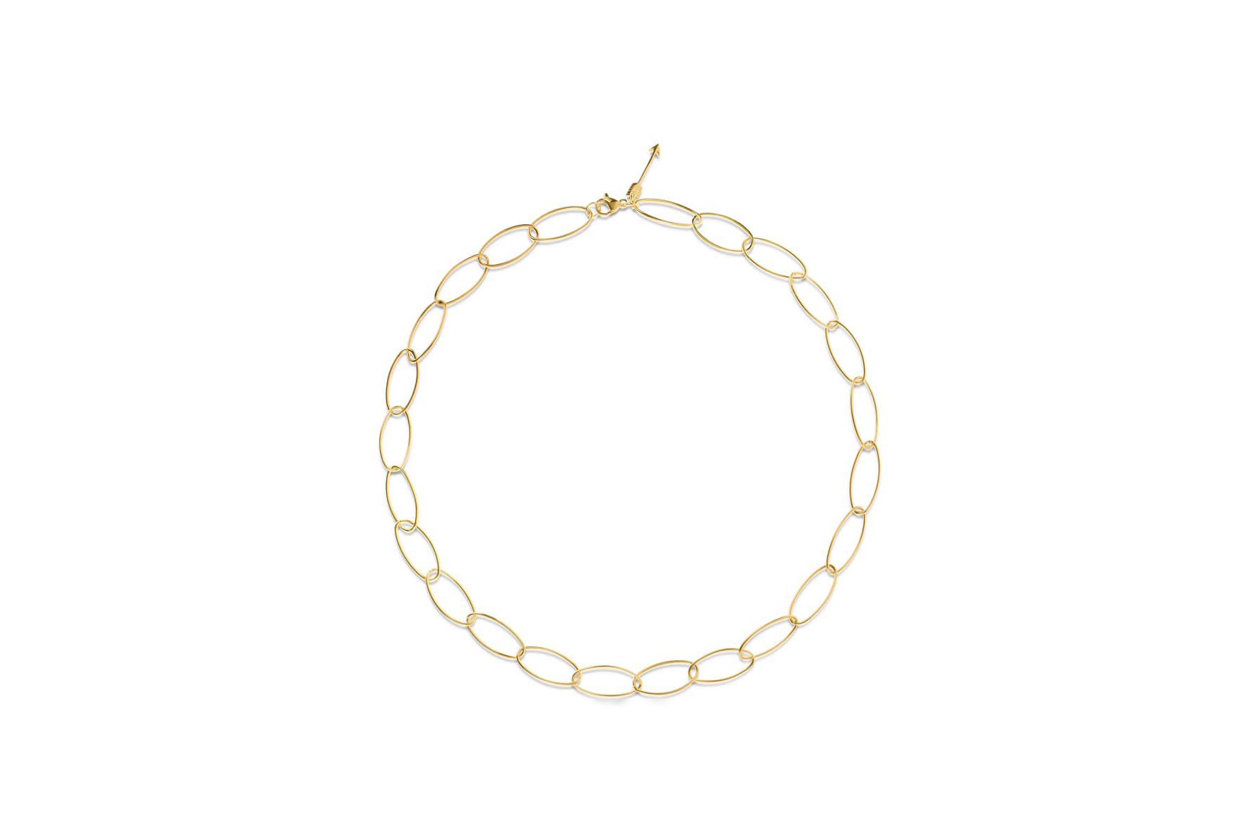 Ellie Vail Celia oval chain link necklace