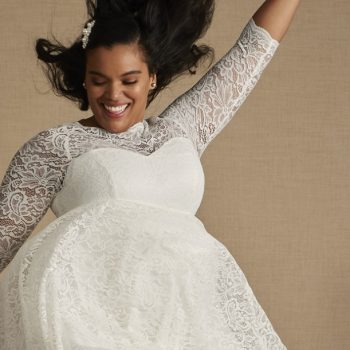 Torrid's new wedding dress collection is all under $400 and available up to size 30