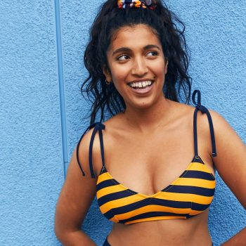 Aerie's new swim collection is made from 1.2 million recycled plastic bottles