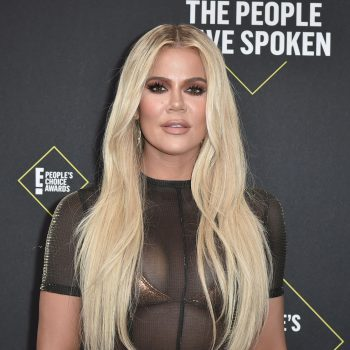 Khloé Kardashian has a bronde bob with throwback chunky highlights