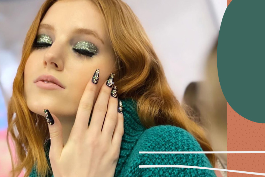 Slept-in '70s glam is the relatable NYFW beauty trend we can't wait to try