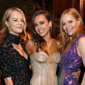 Jessica Alba was low-key having the most fun at the Vanity Fair Oscar Party