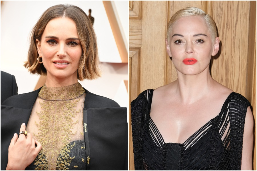 Natalie Portman responded to Rose McGowan's criticism of her Oscars cape dedicated to women directors