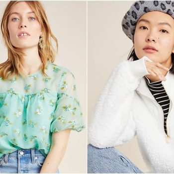 Anthropologie sale items are an extra 50% off starting right now