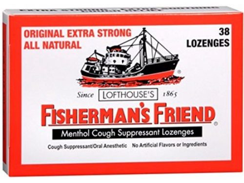 fishermans friend menthol cough suppressant