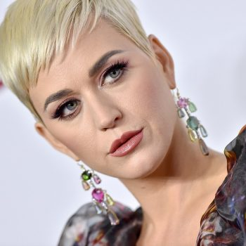 """Katy Perry traded her pixie for long, """"goddess glow"""" blonde hair"""