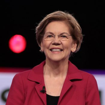 Elizabeth Warren had a mic drop moment about believing women at last night's Democratic debate