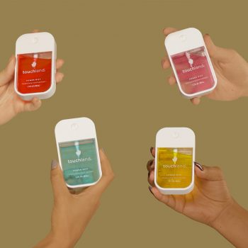 Our favorite hand sanitizer is chic AF and will last you months