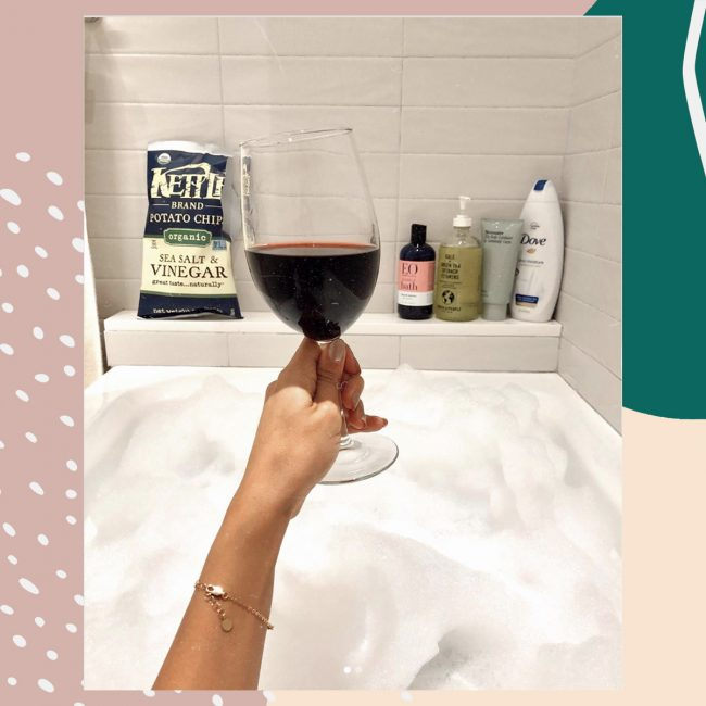 I'm a bubble bath pro, and this is how I turn it into a spa-like experience