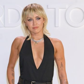 """Miley Cyrus just cut her own bangs at home: """"Luckily for me, I won't be seeing anyone"""""""