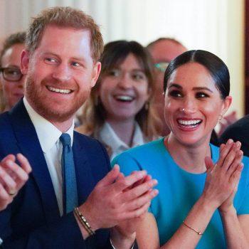 This man proposed in front of Prince Harry and Meghan Markle, and Meghan couldn't handle the cuteness
