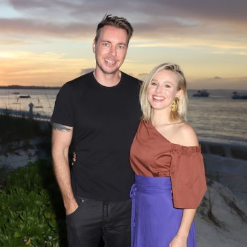 "Kristen Bell said Dax Shepard had the ""best response"" when their daughter used the ""f-word"""
