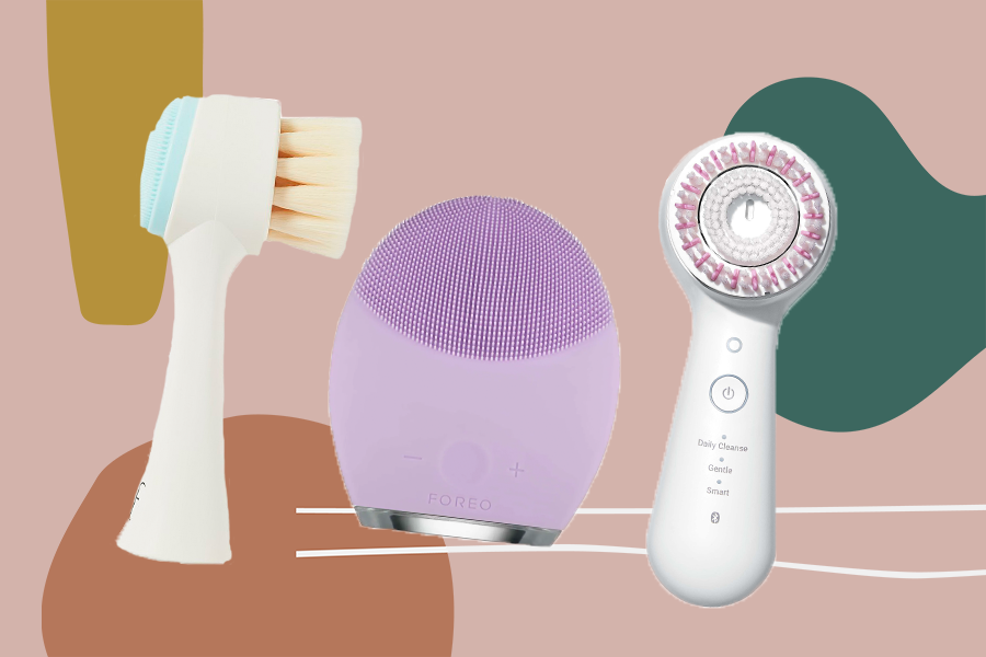 These facial cleansing brushes will give your skin the deepest clean ever