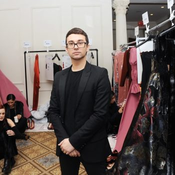 Christian Siriano is designing 1,000 masks for New York City hospitals in need
