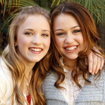 """Miley Cyrus just had the """"reunion of the decade"""" with her <em>Hannah Montana</em> co-star"""
