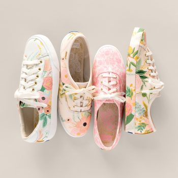 Rifle Paper Co.'s new Keds collection has the happiest spring sneakers, and everything is 20% off right now