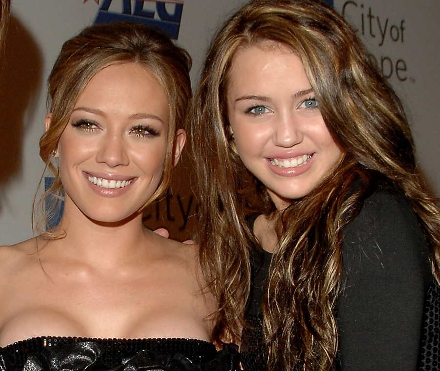 """Miley Cyrus gushed to Hilary Duff that she's still """"the queen of my universe"""" while sharing a throwback video"""