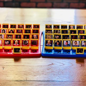 You can buy <em>Friends</em>-themed Guess Who—so could game night BE any better?