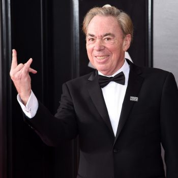 Andrew Lloyd Webber is playing his songs every day on Facebook, and it's bringing us joy