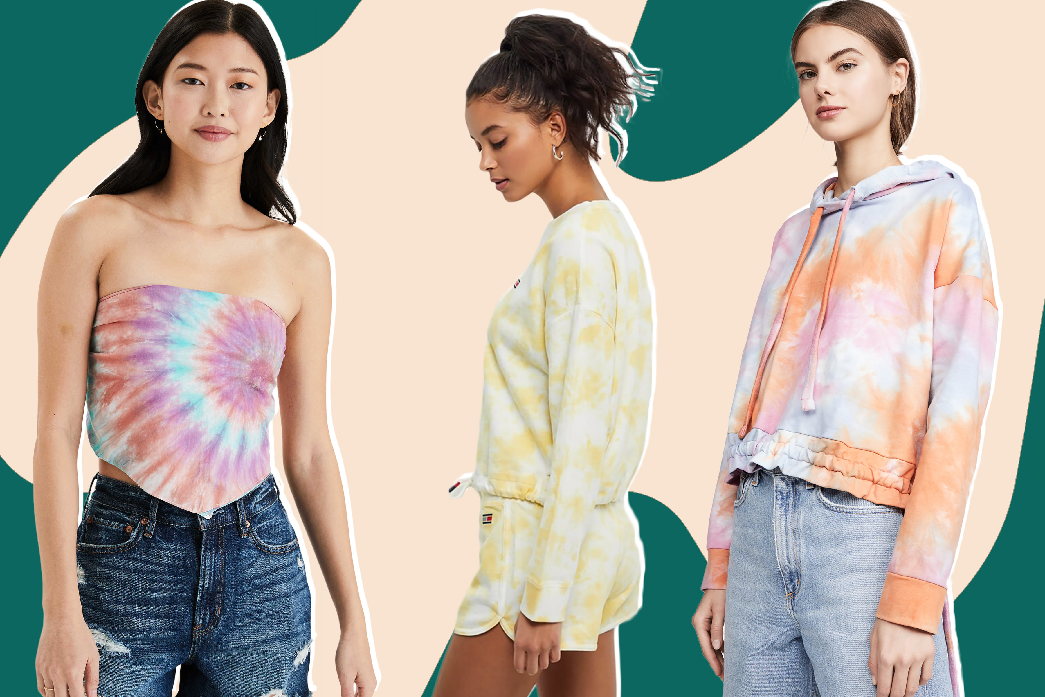 12 tie-dye picks for instant mood boosts, all under $70