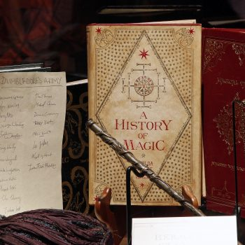 You can tour the <em>Harry Potter: A History of Magic</em> exhibit for free from your couch