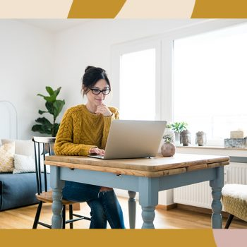 Here's how to stick to a routine when working from home, according to experts