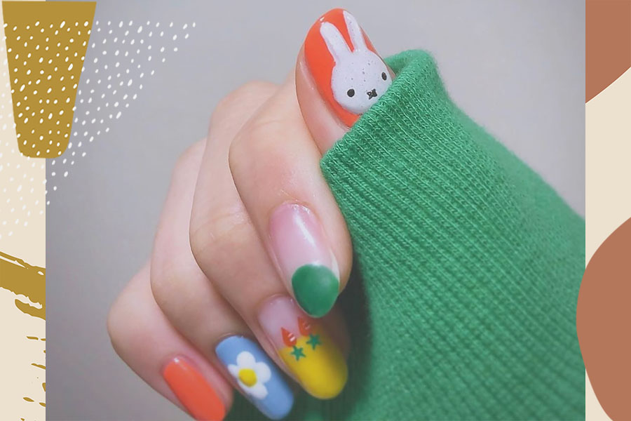 10 easy Easter nail art ideas you can do at home