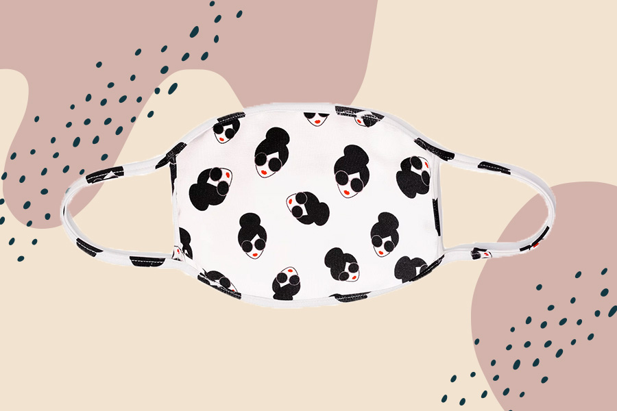 If you buy Alice and Olivia's washable face mask, it will donate one to communities in need