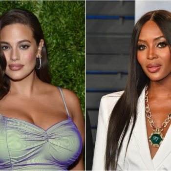 Naomi Campbell defended Ashley Graham after another model concern-trolled her weight