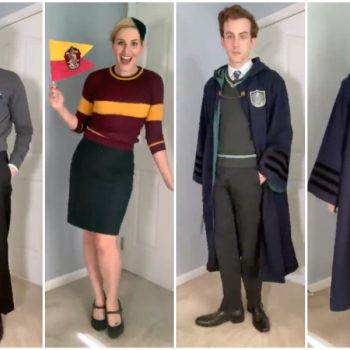 This TikTok duo imagined what Hogwarts fashion would look like through the decades—and J.K. Rowling approves