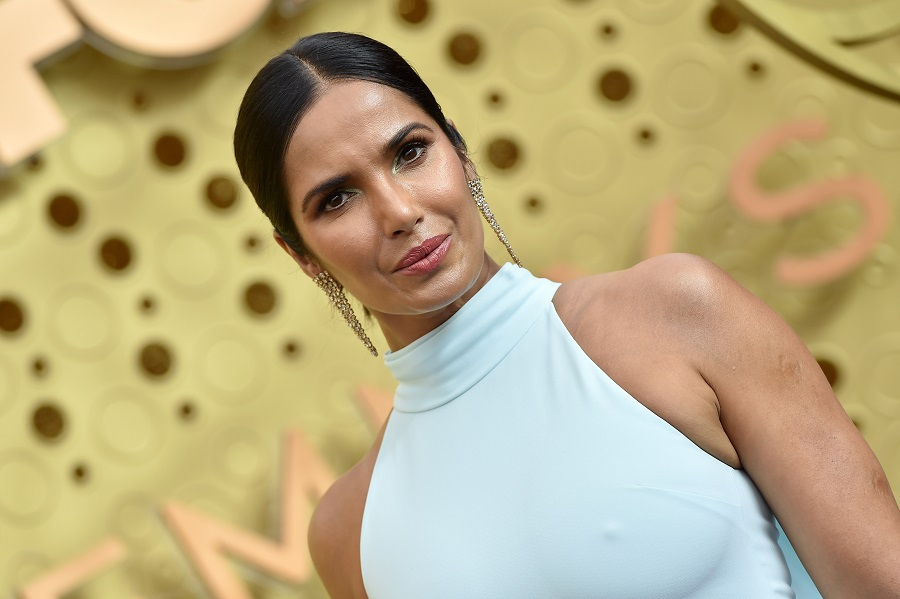 Padma Lakshmi clapped back in the funniest way to trolls who criticized her not wearing a bra