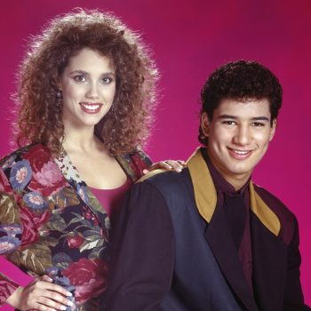 Jessie and Slater are back at Bayside in the first meta <em>Saved By the Bell</em> revival teaser