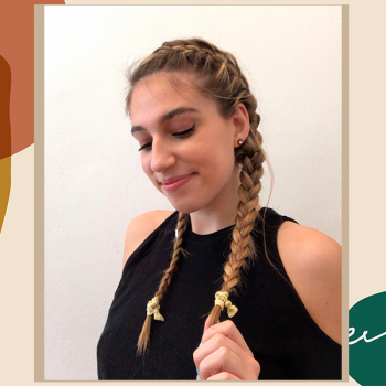A step-by-step guide to French-braiding your own hair