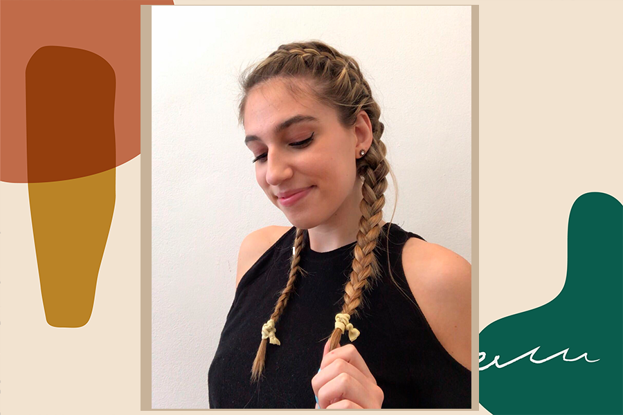 A step-by-step guide to French braiding your own hair