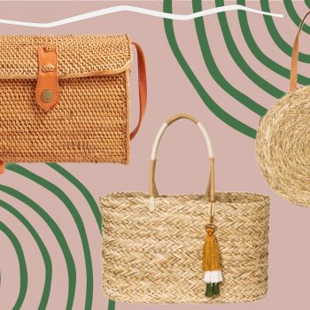 12 straw bags to carry through summer, starting at $7.20