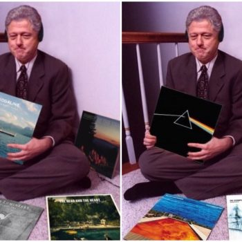 Here's how to do the Bill Clinton album challenge on Instagram