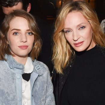 Uma Thurman cut her daughter's hair, and now she looks like one of Uma's most iconic characters