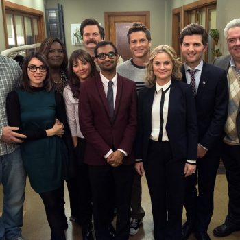 The entire <em>Parks and Rec</em> cast is coming back for one more episode, and it's like Galentine's Day came early