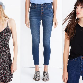 Madewell is offering an extra 70% off sale styles—shop t-shirts, jeans, and more starting at just $5