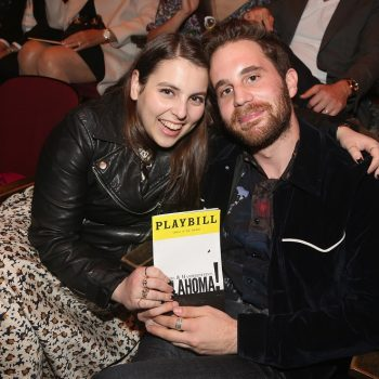 BFFs Beanie Feldstein and Ben Platt performed the perfect Broadway duet together