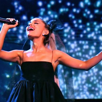Ariana Grande threw back to her Broadway roots with her new at-home performance